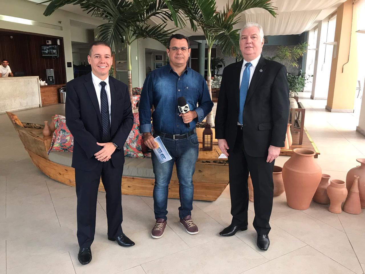 Entrevista ao vivo para o Bom Dia SE dos presidentes da ANAPE, Telmo Lemos Filho, e APESE, Marcus Barros